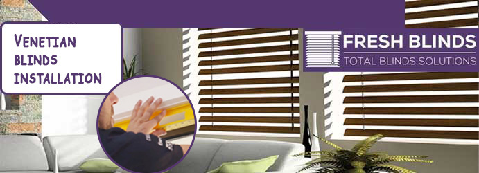 Venetian Blinds Installation