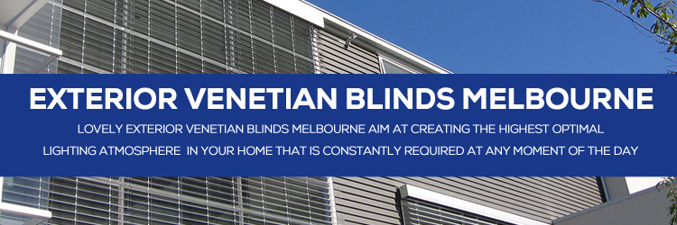 Exterior Venetian Blinds South Wharf