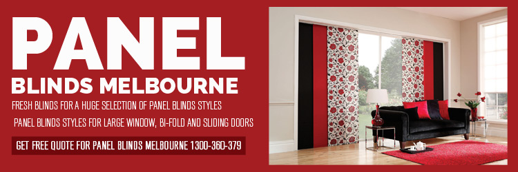 Panel Blinds Donvale