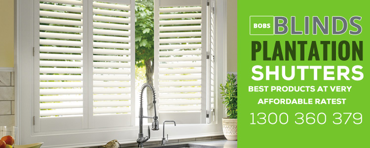 Wooden interior blinds Bellfield
