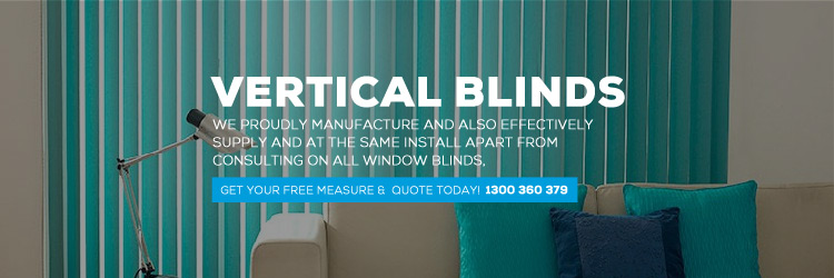 Fabric Vertical Blinds Docklands